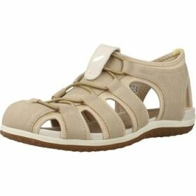 Geox  D SANDAL VEGA  women's Sandals in Brown