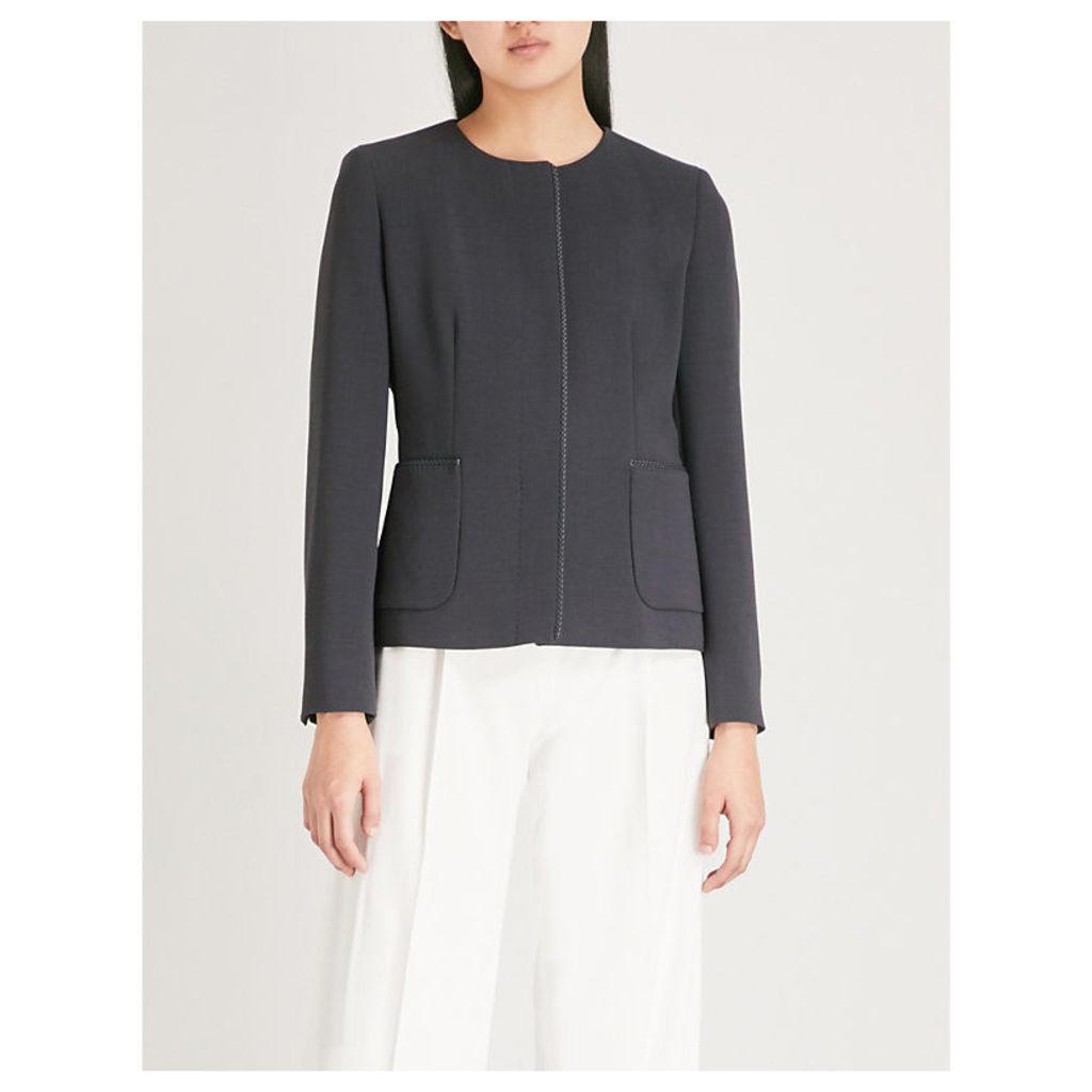 Canosa stretch wool jacket