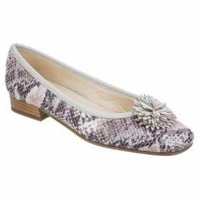 Riva  Conzo Snake Womens Ballerina Pumps  women's Shoes (Pumps / Ballerinas) in Beige