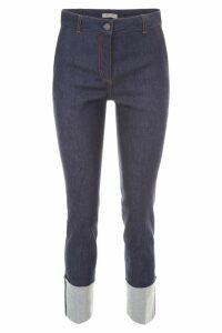 Bottega Veneta Jeans With Turn-ups
