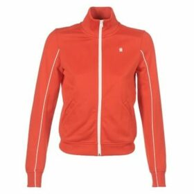 G-Star Raw  LANC SLIM TRACKTOP SW  women's Sweatshirt in Red