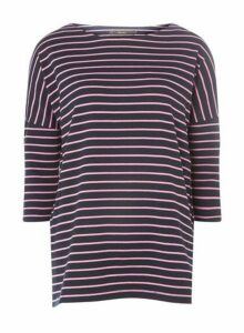 Womens **Vero Moda Pink Striped Top- Multi, Multi