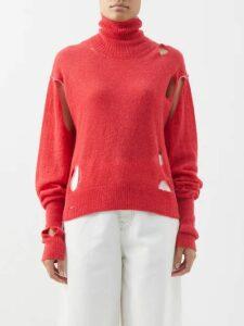 Borgo De Nor - Carlotta Crepe Maxi Dress - Womens - Pink Print