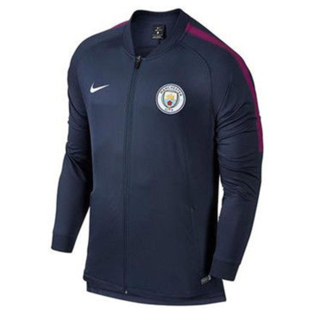 Nike  2017-2018 Man City Core Trainer Jacket  women's Tracksuit jacket in Blue
