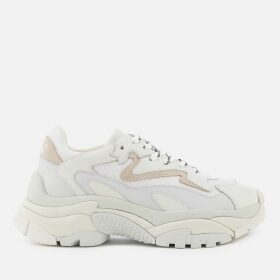 Ash Women's Addict Chunky Runner Style Trainers - White/Off White - UK 8 - White