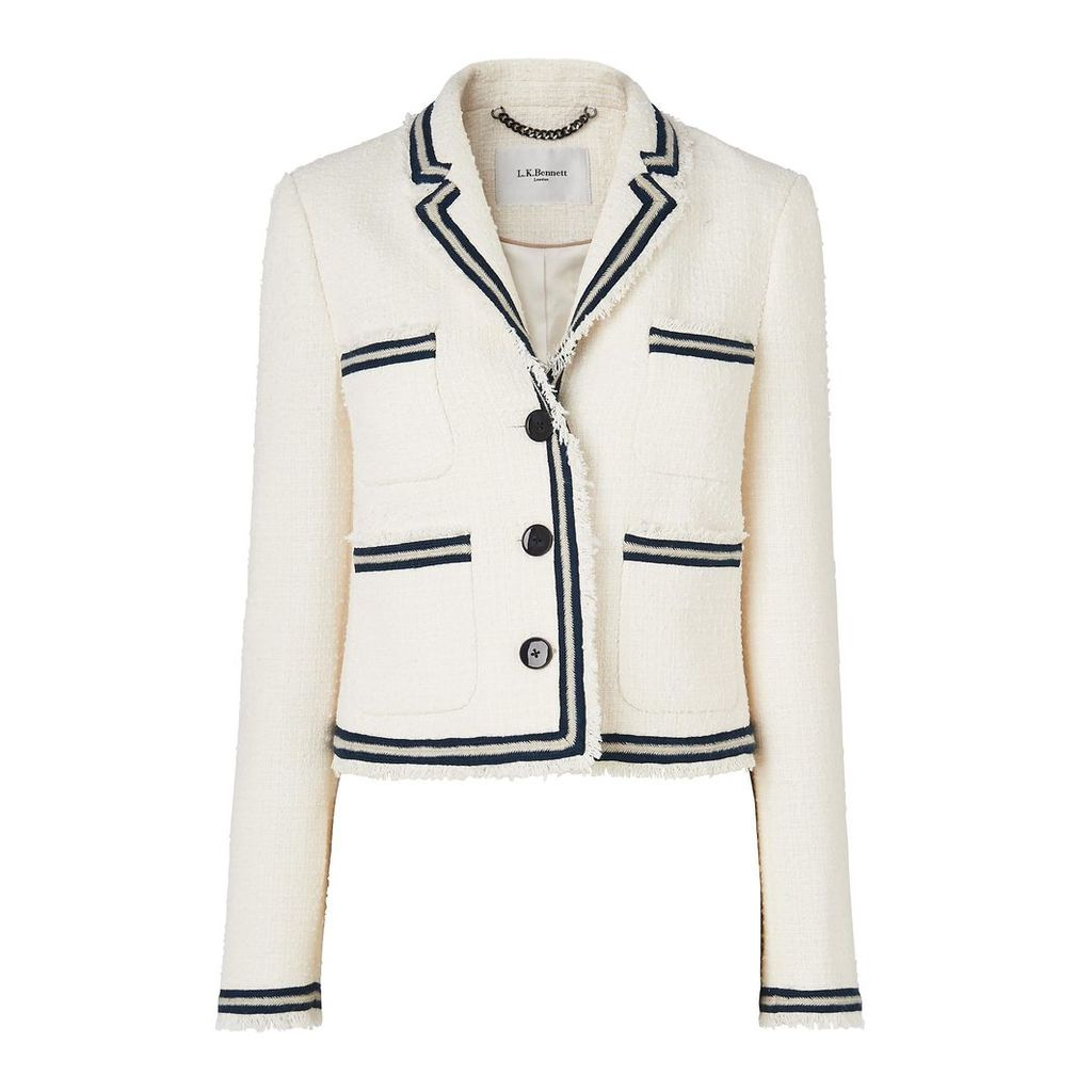 Susanna Cream Cotton Jacket