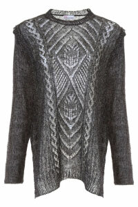 RED Valentino Perforated Knit Pull