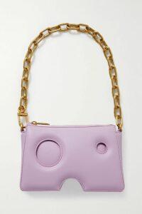 Stella McCartney - Off-the-shoulder Cotton-poplin Top - Blue