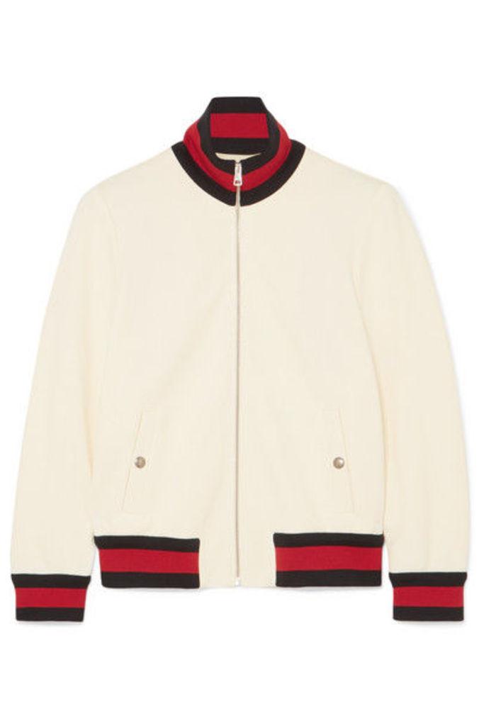 Gucci - Twill Bomber Jacket - Ivory