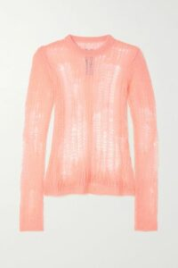 La Ligne - Marin Striped Cashmere And Wool-blend Sweater - Navy