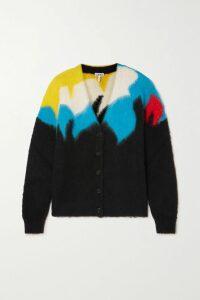 Acne Studios - Ferris Face Appliquéd Cotton-jersey Hoodie - Blush