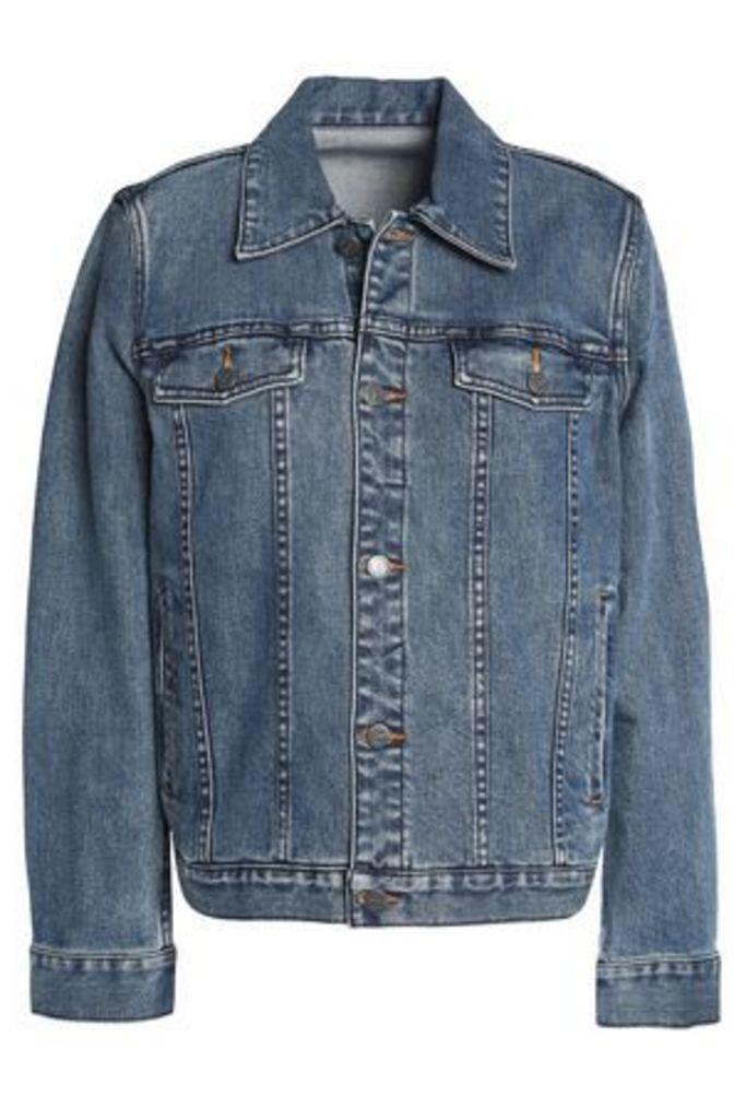A.p.c. Woman Brandy Denim Jacket Mid Denim Size XL