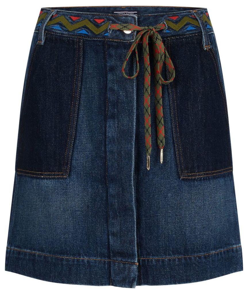 Tommy Hilfiger Aspen Denim Skirt, Blue