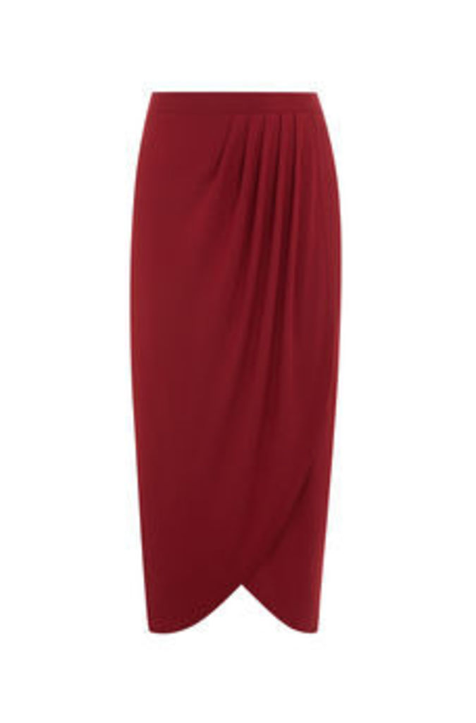 LUXE WRAP FRONT SKIRT