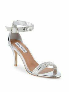 Florela Embellished Metallic Sandals