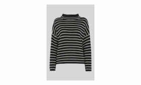 Fine Stripe Relaxed Sweater