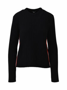 Calvin Klein Black Sweater With Trim