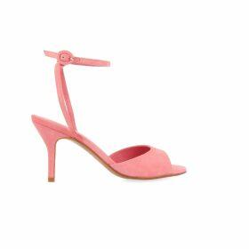 Nissa - Evening Dress With Shiny Effect & Waist Belt