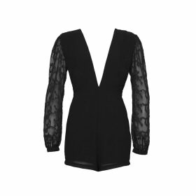 House of Dharma - The Wanderlust Romper - Black