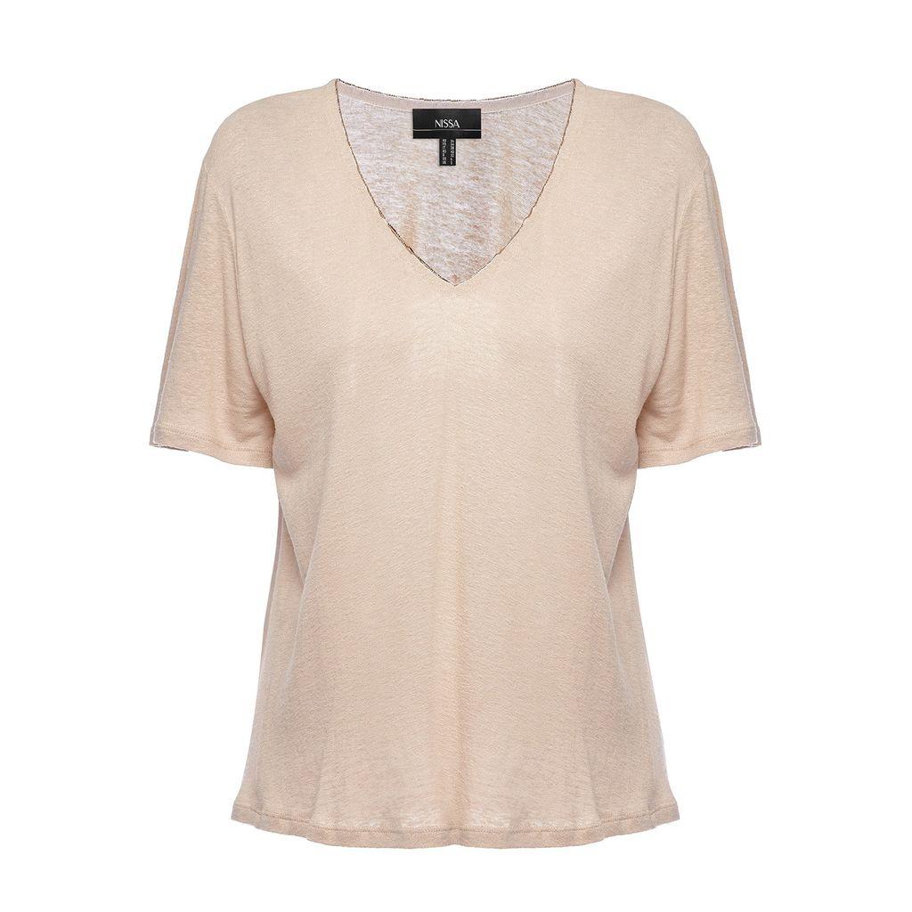 Nissa - Asymmetric Jacket With Ruffle