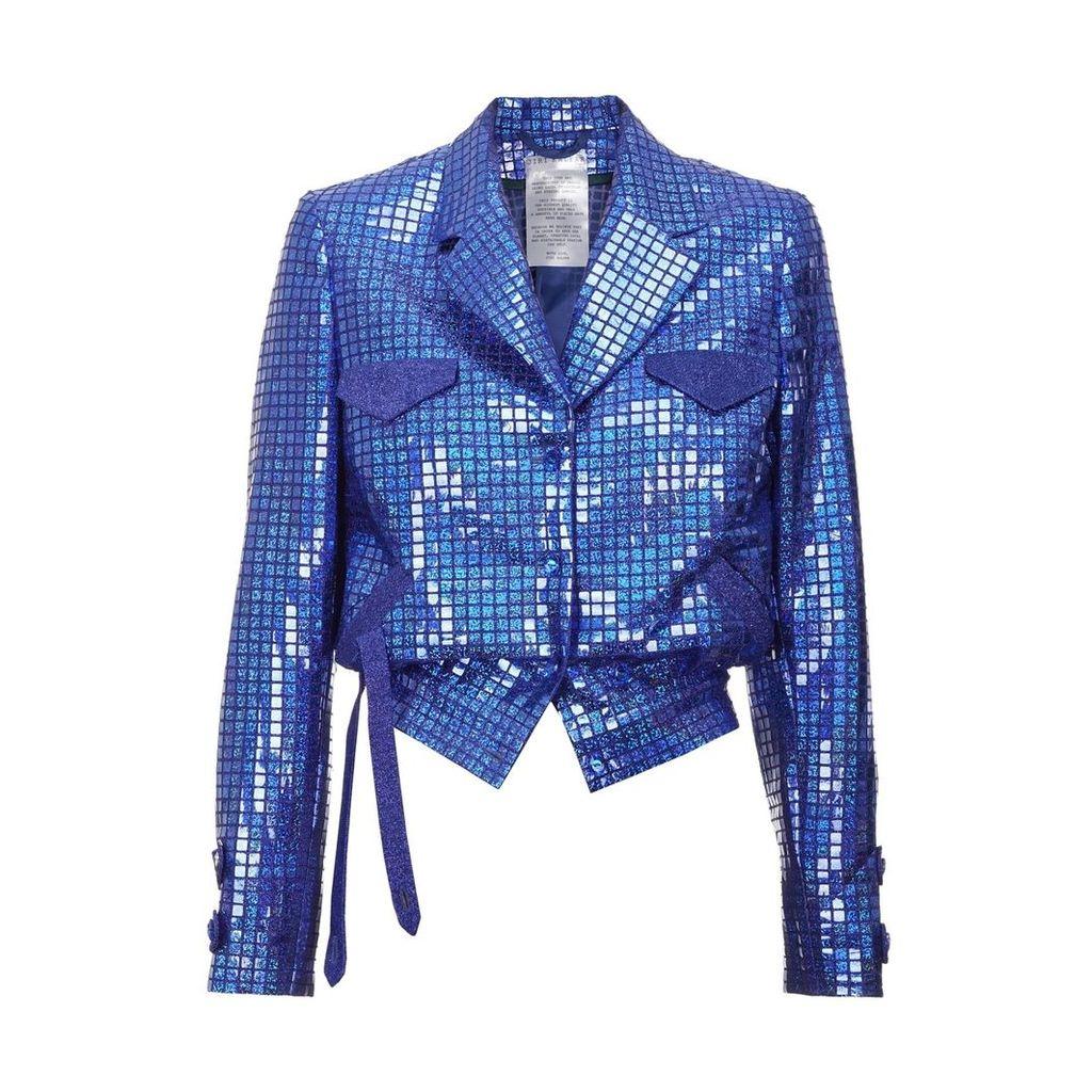 JIRI KALFAR - Blue Sequin Jacket