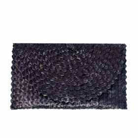 PAISIE - Lavender Blue Ribbed Jumper With Side Splits