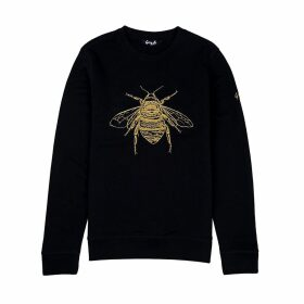 Gung Ho - Signature Bee Embroidered Sweatshirt