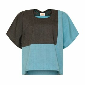 Bo Carter - Mars Top Grey & Aqua