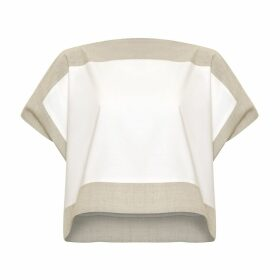 Bo Carter - Luna Top White & Beige
