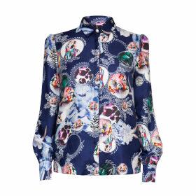 SABINA SÖDERBERG - Malin Shirt Bluebird