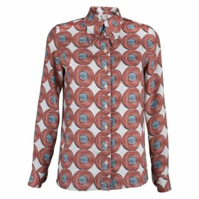 MUZA - Printed Button Down Shirt