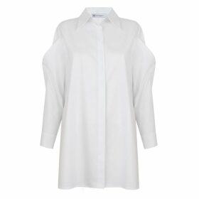 WtR - Cyril Black Embellished Silk Balloon Sleeve Blouse