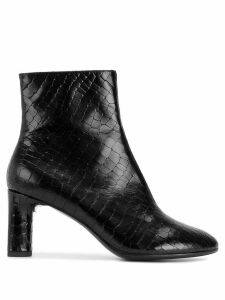 Clergerie zipped ankle boots - Black