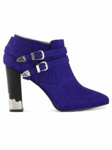 Toga pointed toe ankle boot - Blue