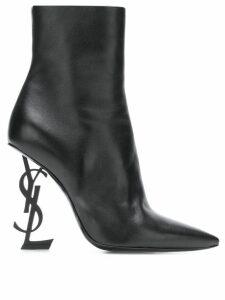 Saint Laurent Opyum 110 ankle boots - Black