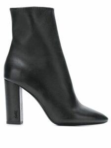 Saint Laurent Lou 95 ankle boots - Black