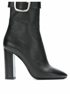 Saint Laurent Joplin 105mm ankle boots - Black