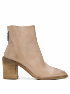 Marsèll zipped high ankle boots - NEUTRALS