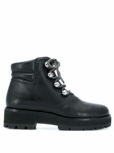 3.1 Phillip Lim Dylan Lace-Up Hiking Boot - Black