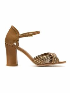 Sarah Chofakian leather sandals - Brown