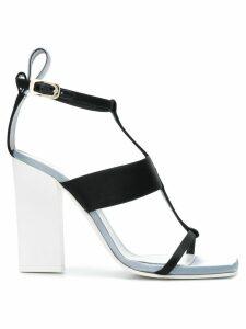 Lanvin open-toe strappy sandals - Black