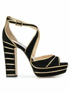 Jimmy Choo April 120 sandals - Black