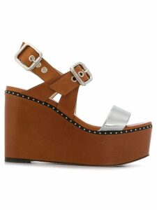 Jimmy Choo Alton 100 sandals - Brown