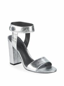 Rowan Metallic Leather Sandals