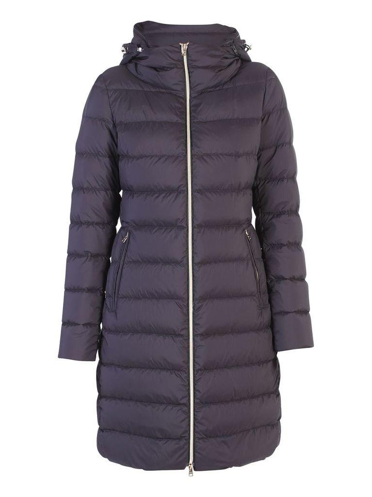 Black Zipped Padded Jacket