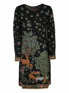 Alberta Ferretti Floral Dress