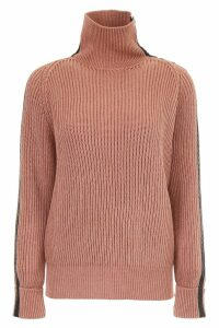 Bottega Veneta Pullover With Leather Inserts
