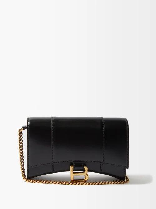 Vero Dodat leather and PVC clutch