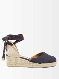 The Row - Sabrinah Oversized V Neck Wool Sweater - Womens - Light Blue