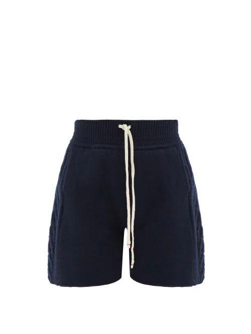 Iona cowl-neck silk-satin top